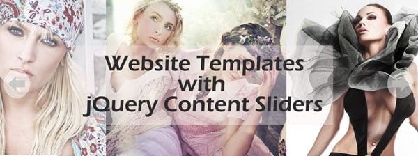 Absolutely Cool Website Templates with jQuery Content Sliders