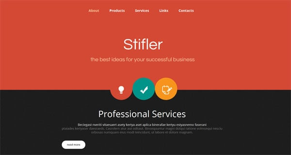 Top Website Templates Designed in iOS 7 Style