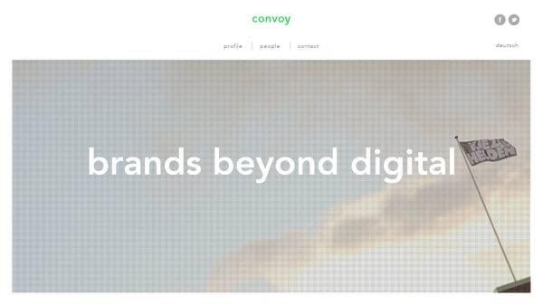 Print Inspired Web Design