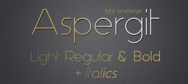 30 Free Lightweight Fonts for Flat Designs