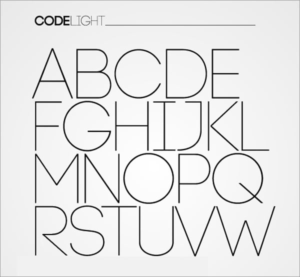 30 Free Fonts for Flat Designs