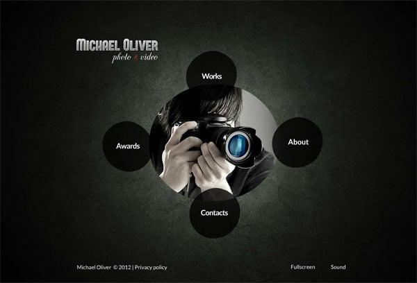 Circular Website Templates