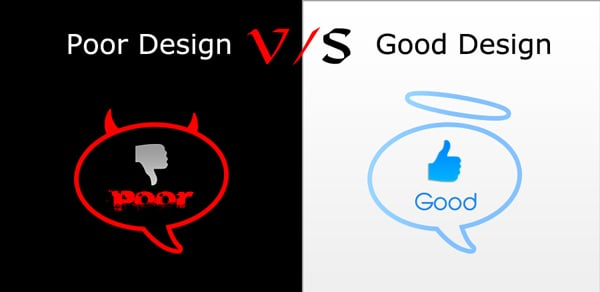 Poor Design Vs Good Design: How Your Websites Rank On The Web