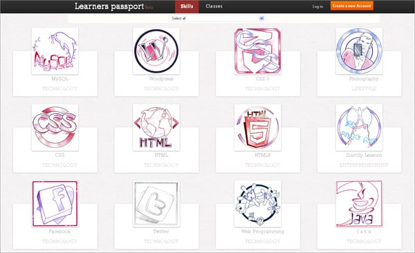 Badge Rewards in Web Design