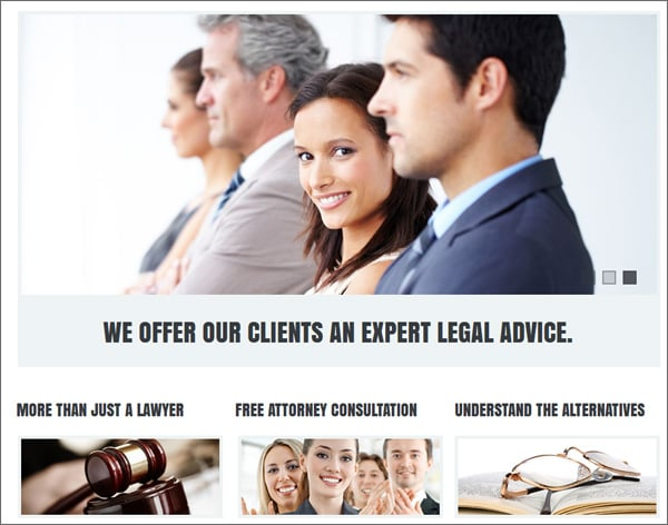 Basic Elements for a Conversion Friendly Legal Website