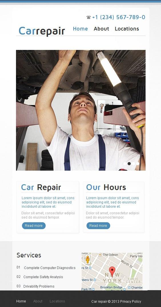 Get a Car Website Templates for 30 Days Free