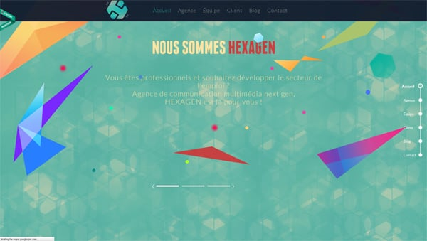 36 Polygonal Web Designs: A Magic of  Geometry