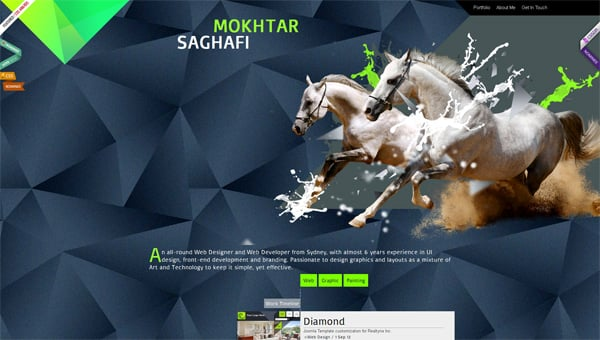 36 Polygon Art in Web Designs: A Magic of  Geometry
