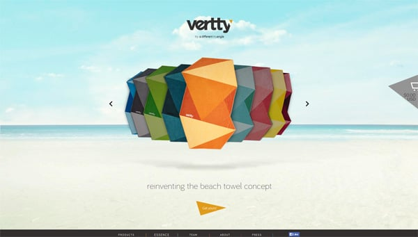 36 Polygon Art Web Designs: A Magic of  Geometry