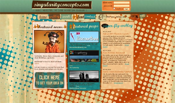 40 Retro Websites with a Spirit of Nostalgia