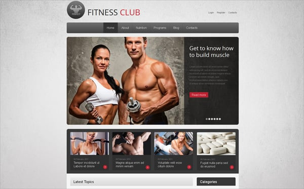 Sport Website Templates Serving Your Needs Online