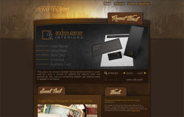 The Art of Textures in Web Design