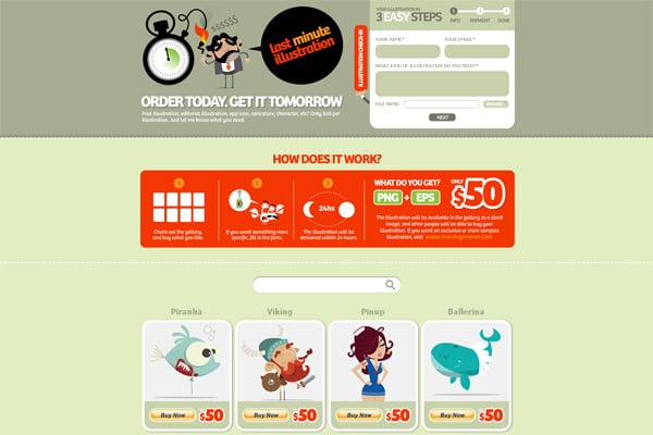 Doodles in Web Design – How it Can Be Applied