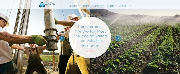 oasis water website