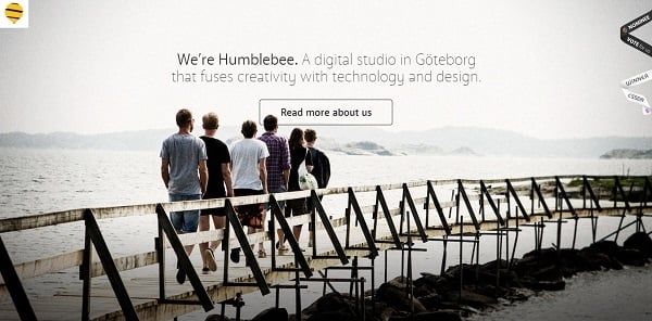 Water Website Design - Humblebee