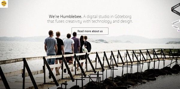 Water Website Design - Humblebee
