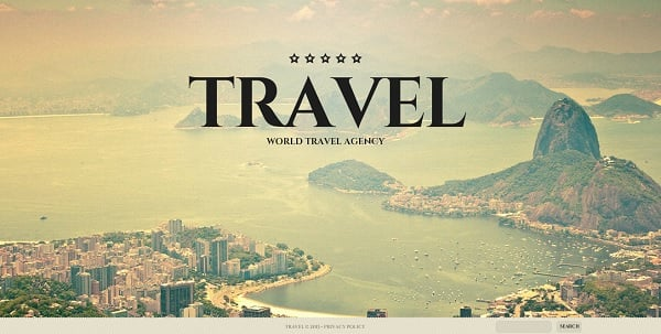 Vintage-Style Template for Travel Agency