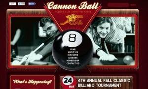 Vintage Template for Billiard Club