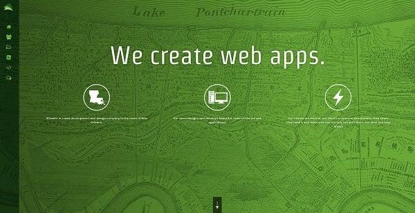 3coasts monochromatic website design