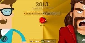 Flat vs. Realism