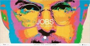 Jobs Pop Art style poster