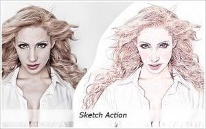 Like Pencil Free Photoshop Action
