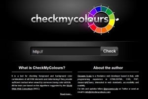 Check My Colors Color Palette Generator