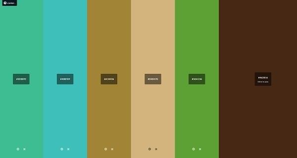 Hailpixel Color Palette Generator