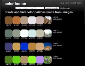 ColorHunter Color Palette Generator