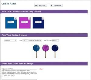 Combo Maker Color Palette Generator