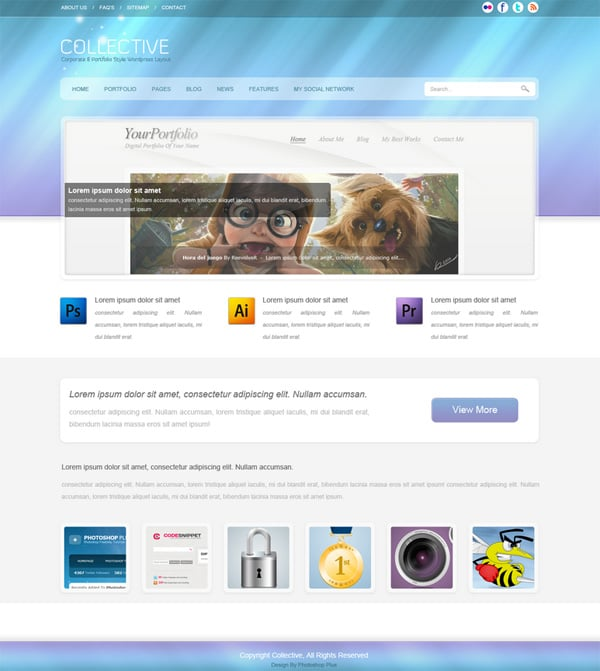 Design Website Layout in Photoshop – 50 Step-by-Step Tutorials