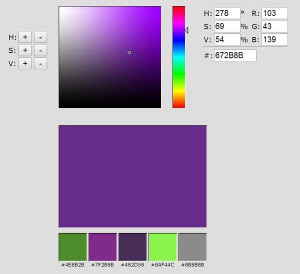 Infohound Color Palette Generator