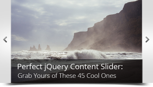 jQuery Content Slider main