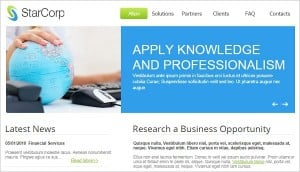 Website Template for Business Firm