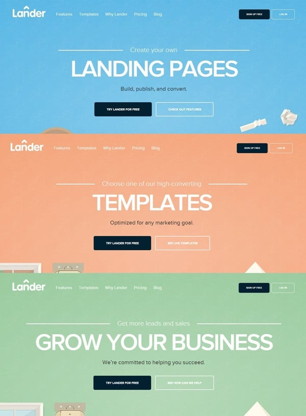 Lander Conversion Optimization