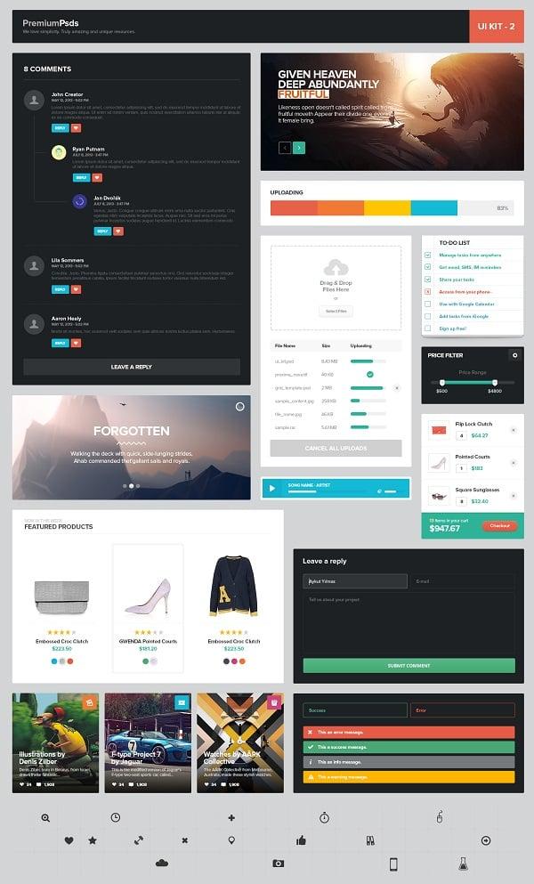 Premium Metro UI Kit