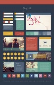 Pastel Metro UI Kit
