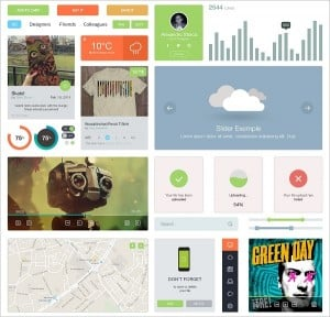 Light Metro-Style UI Kit