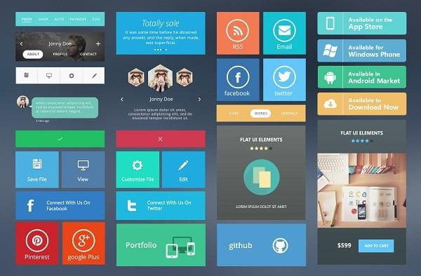 Modern Metro UI Kit