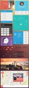 Newest Metro UI Kit