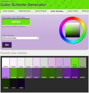 PerBang Color Palette Generator