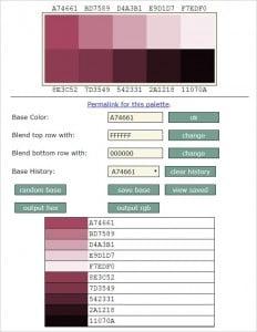 SlayerOffice Color Palette Generator