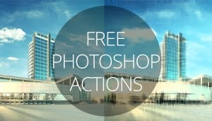 Free Photoshop Actions main