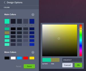 MotoCMS 3.0 - Color Picker