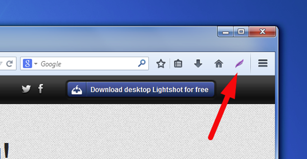 Firefox Screenshot Capture Addons - Lightshot