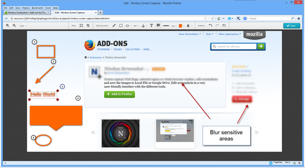 Firefox Screenshot Capture Addons - Nimbus Screenshot