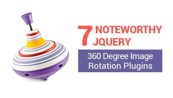 jQuery 360 Degree Image Rotation Plugins