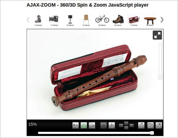 image rotation plugin Ajax Zoom