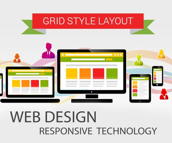 Grid Layout Web Design Trends 2015