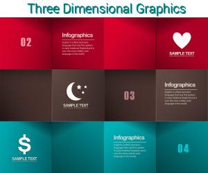 3D Graphics Web Design Trends 2015